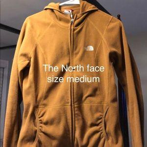 The North Face women's fleece jacket Medium